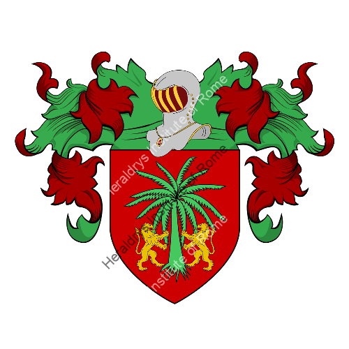 Coat of Arms of family Salana