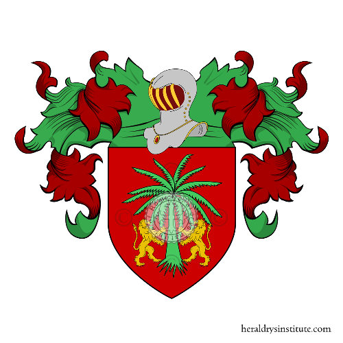 Coat of Arms of family Salandi