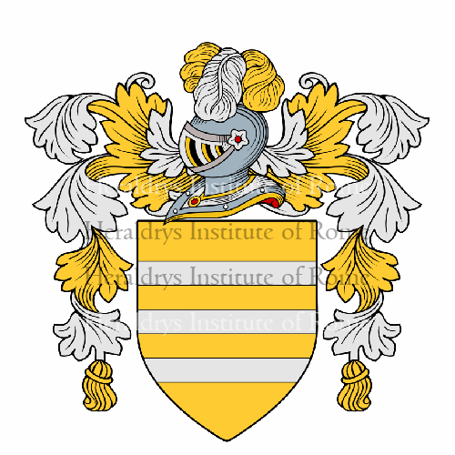 Coat of arms of family Caopena