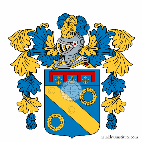 Coat of arms of family Scarfa