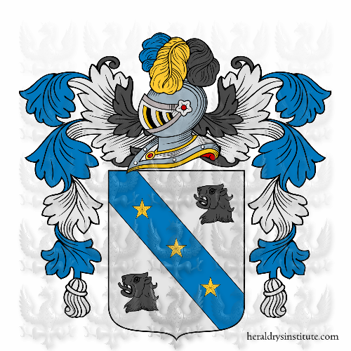 Coat of arms of family Scarfo