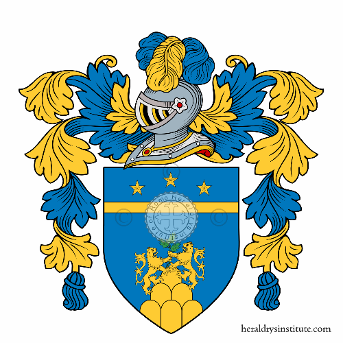 Coat of arms of family Rizzoni
