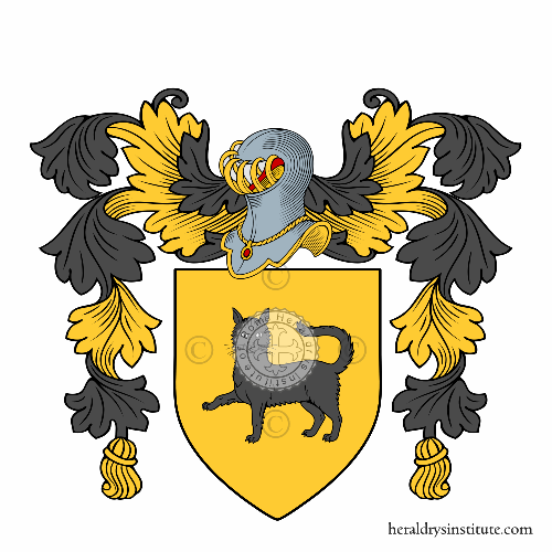 Coat of arms of family Bonanni