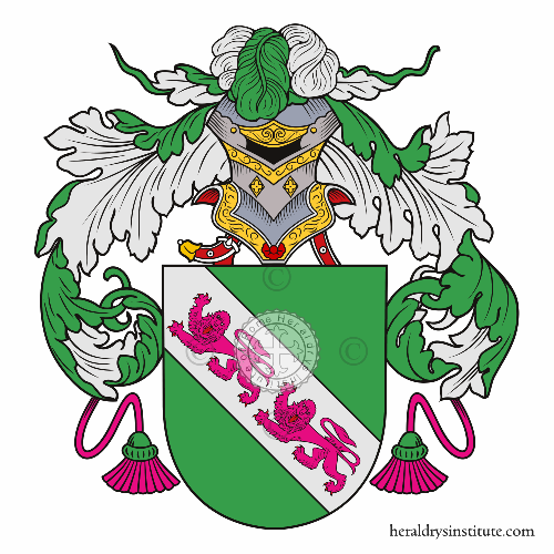 Coat of arms of family Gonçalves