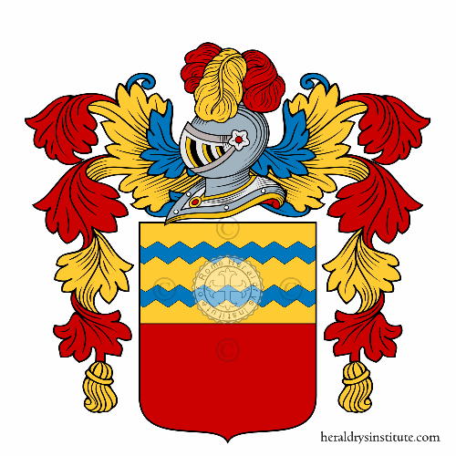 Coat of arms of family Corista