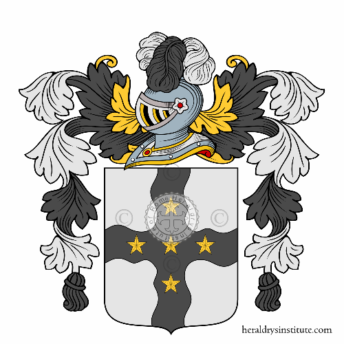 Coat of arms of family Houssard