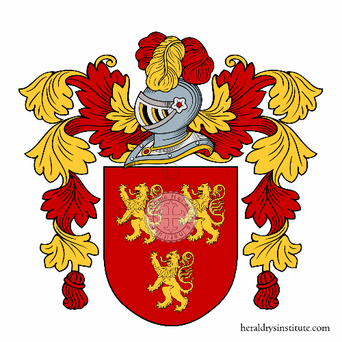 Coat of arms of family Antìn