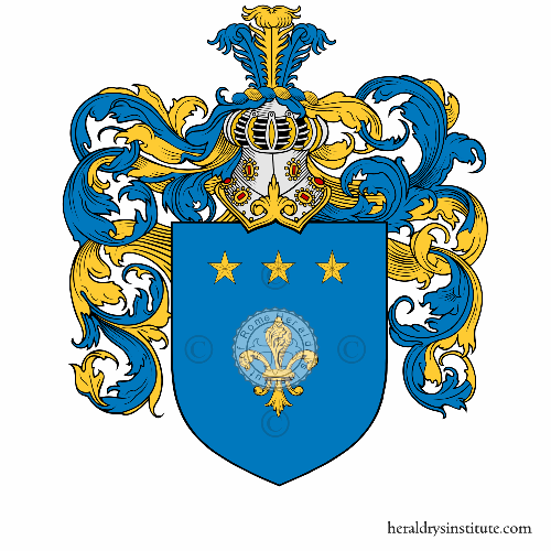 Coat of arms of family Giletta