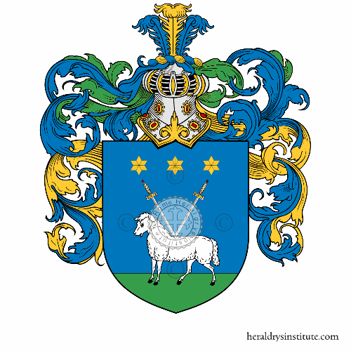 Coat of arms of family Verusio