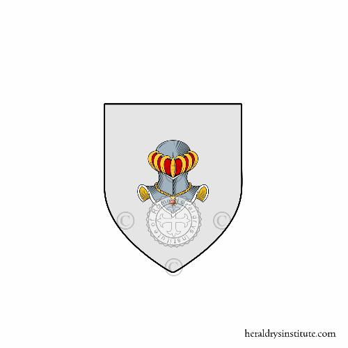 Coat of arms of family Varda da Dio