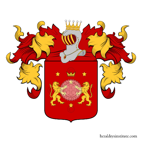 Coat of Arms of family Mogliani