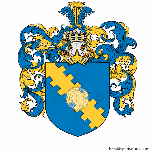 Coat of arms of family Chiariti