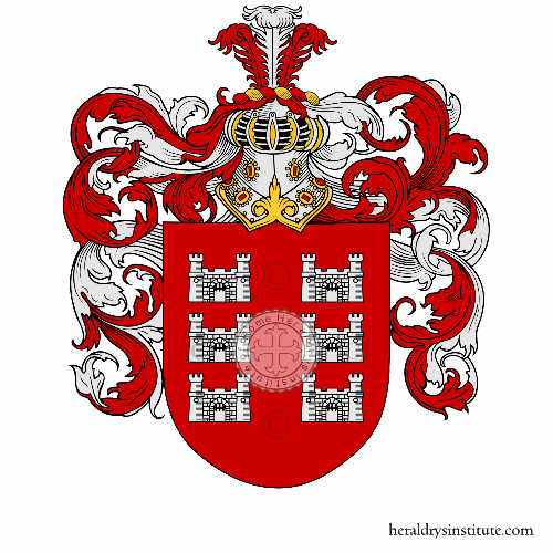 Coat of arms of family Ghilardi