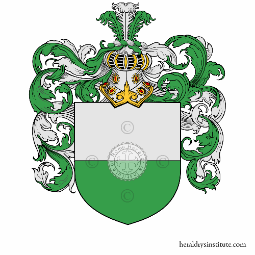 Coat of arms of family Montefoscoli