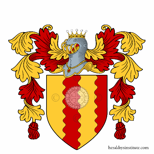 Coat of arms of family Ruffino