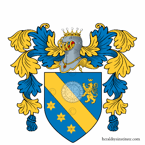 Coat of arms of family Romano