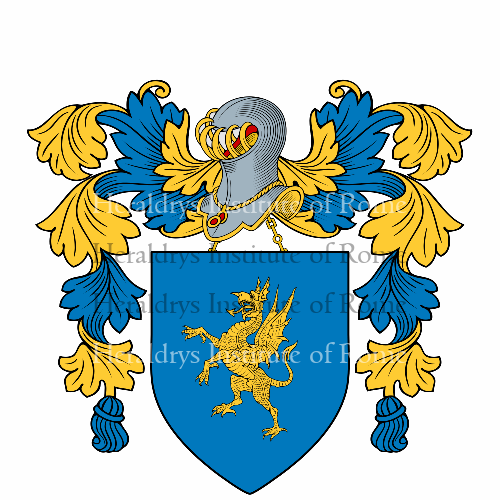 Coat of arms of family Drago