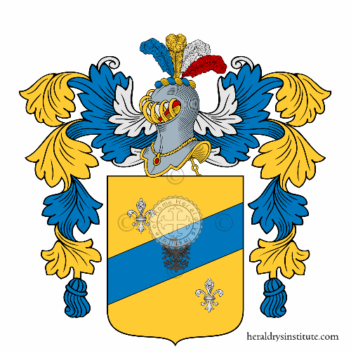 Coat of arms of family Cigliolini