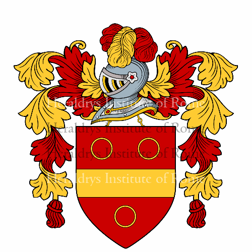 Coat of arms of family Francesconi