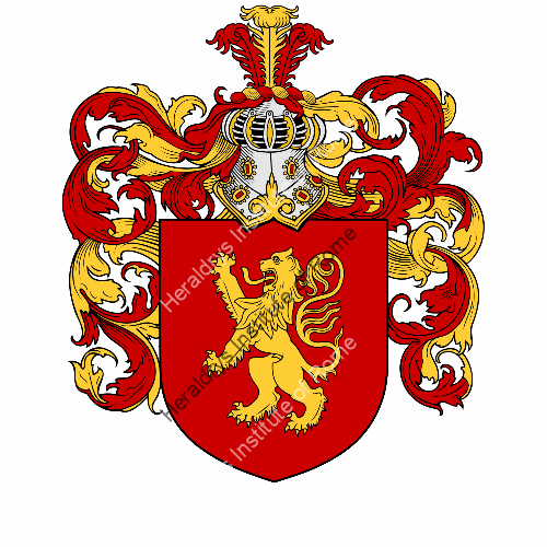 Coat of arms of family Feroldi