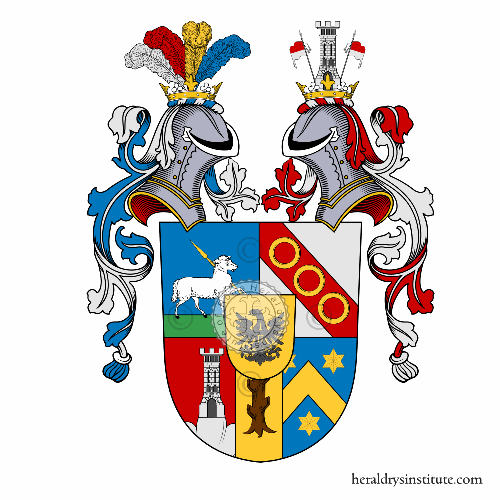Coat of arms of family Lenz