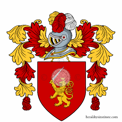 Coat of arms of family Colosimo