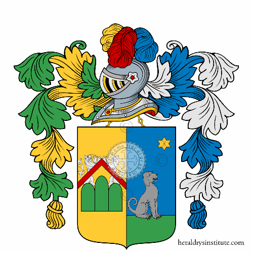 Coat of arms of family Canevale