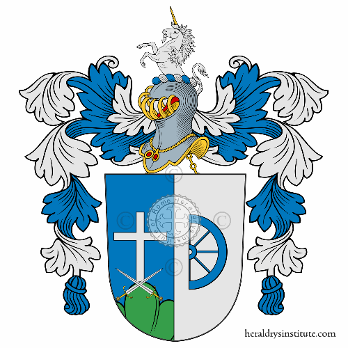 Coat of arms of family Grunwaldt