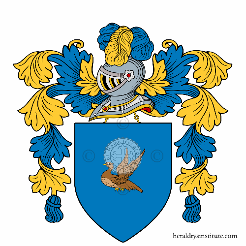 Coat of arms of family Pernice