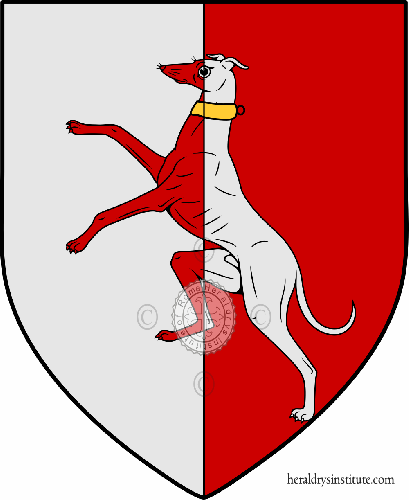 Coat of arms of family Maccani