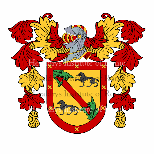 Coat of arms of family Garrido