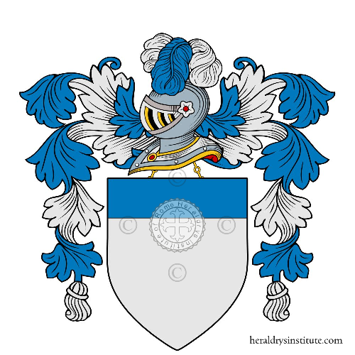 Coat of arms of family Lomazzo