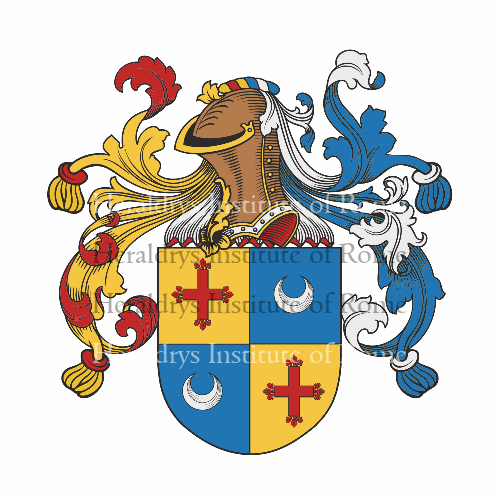 Coat of arms of family Zori