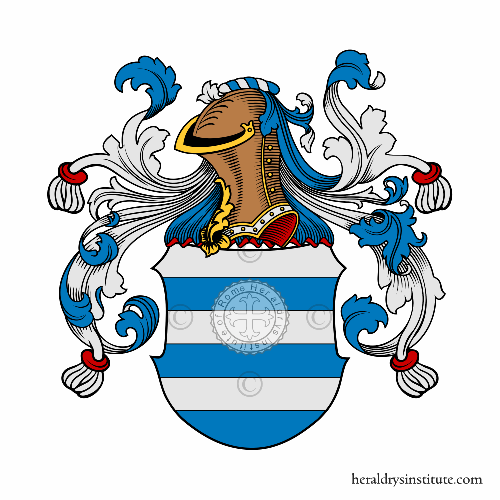 Coat of arms of family Fonts