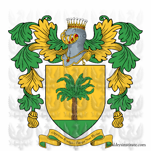 Coat of arms of family Palma