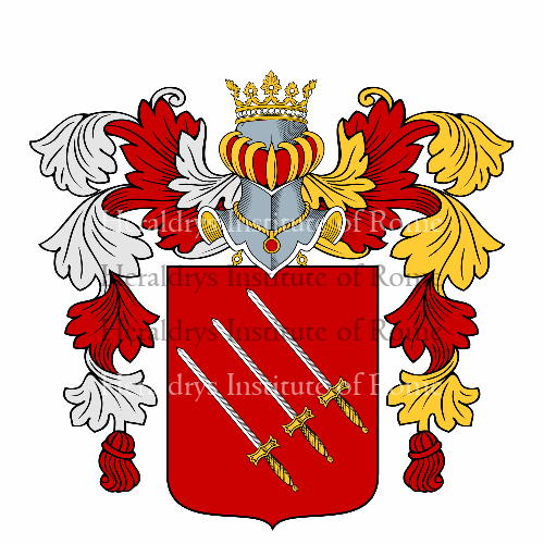 Coat of arms of family Spada
