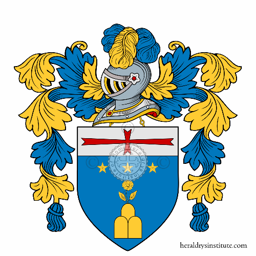 Coat of arms of family Bersi