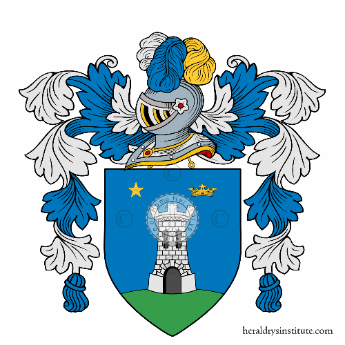 Coat of arms of family Bercich