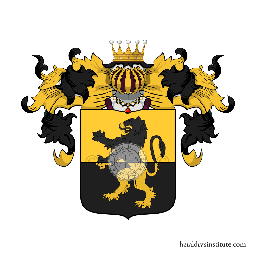 Coat of Arms of family Deto