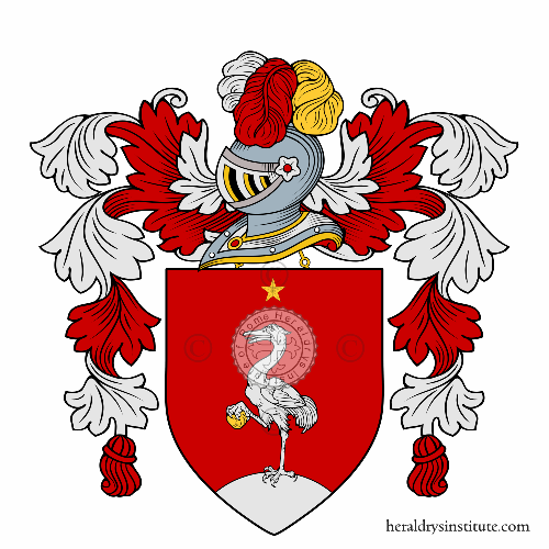 Coat of arms of family Vellin