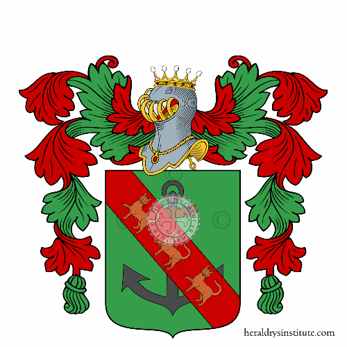 Coat of arms of family Gattolini