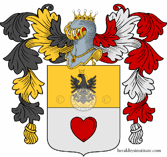 Coat of arms of family Centofanti