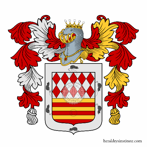 Coat of arms of family Sorgi