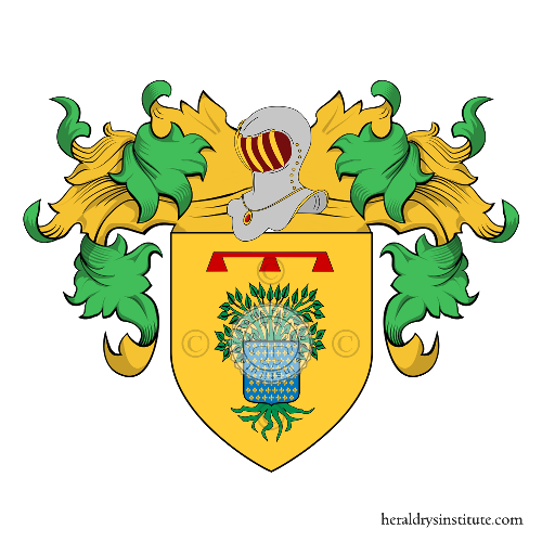 Coat of Arms of family Lauro