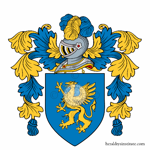 Coat of arms of family Griffi