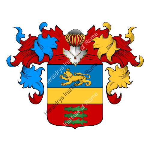 Coat of Arms of family Santacecilia