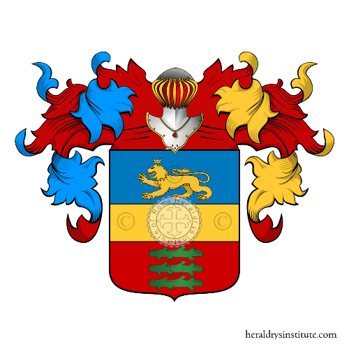 Coat of Arms of family Santiani
