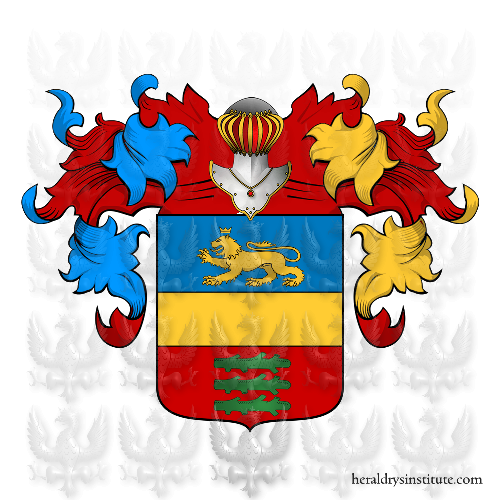 Coat of Arms of family Santiero