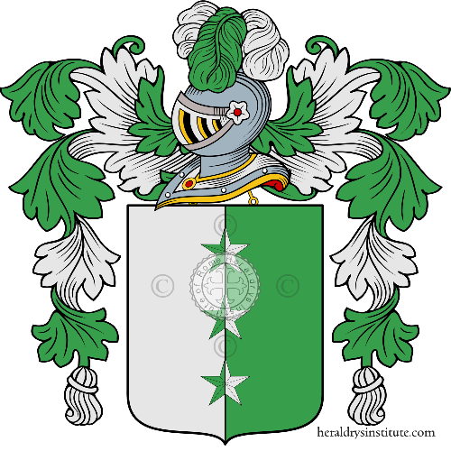 Coat of arms of family Plicanti