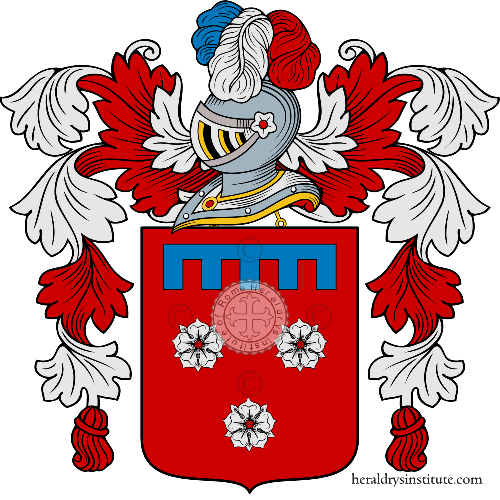 Coat of arms of family Accolti